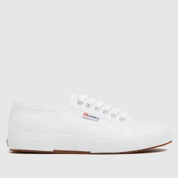 Superga White 2750 Mens Trainers