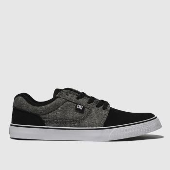 Dc Shoes Black & Grey TONIK TX SE Trainers