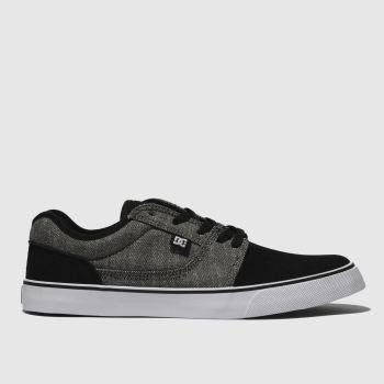 info for 76886 7ca1f Dc Shoes Black  Grey Tonik Tx Se Mens Trainers