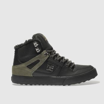 Dc Shoes Black Spartan Hi Wc Wnt Mens Trainers