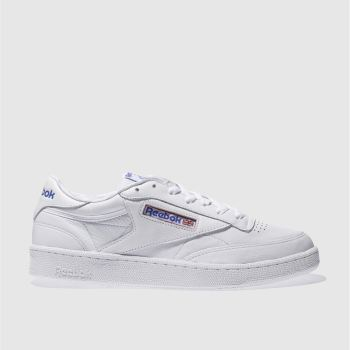 REEBOK WHITE CLUB C 85 SO TRAINERS