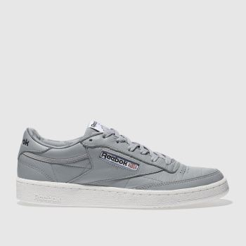 REEBOK GREY CLUB C 85 SO TRAINERS