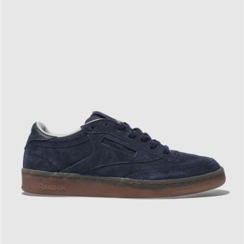94d9e4d7dba00 mens navy reebok club c 85 g trainers