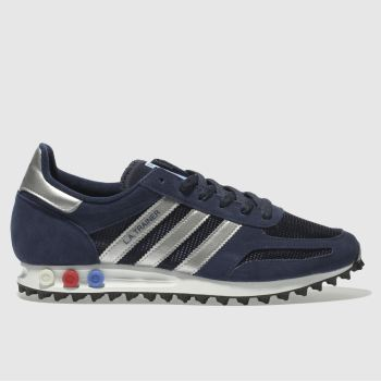 Adidas Navy La Trainer Og Mens Trainers