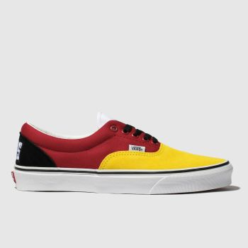Vans Yellow Era Off The Wall Rally Mens Trainers