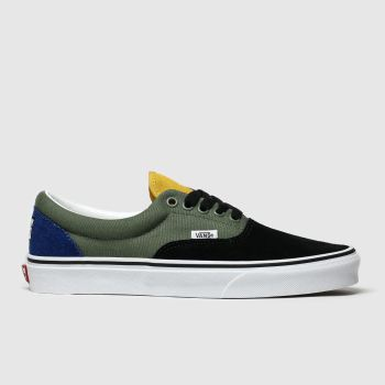 Vans Khaki Era Off The Wall Rally Mens Trainers
