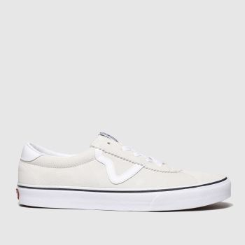 Vans White Sport Mens Trainers