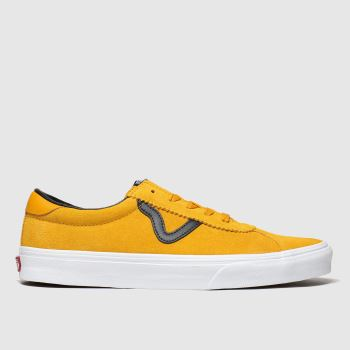 Vans Yellow Sport Mens Trainers