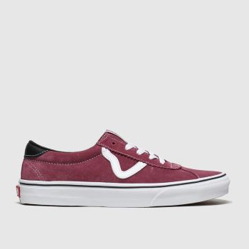 Vans Burgundy Sport Mens Trainers