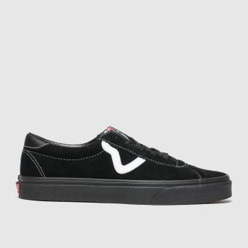 Vans Black Sport Mens Trainers