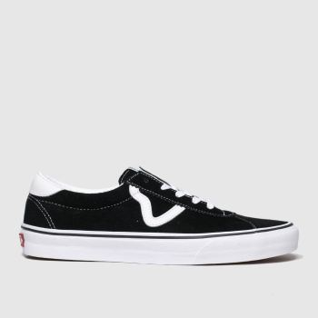 Vans Black & White Sport Mens Trainers