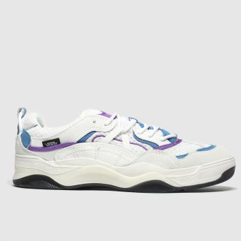 Vans White & Purple Varix Wc Mens Trainers