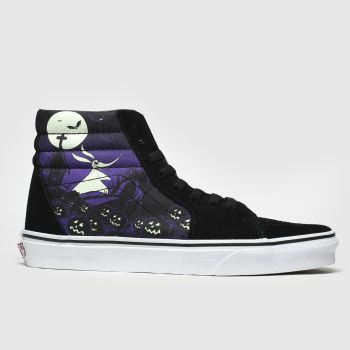 Vans Black & Purple Sk8-hi X Tnbc Trainers