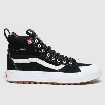 Vans Black & White Sk8-hi Mte 2.0 Mens Trainers
