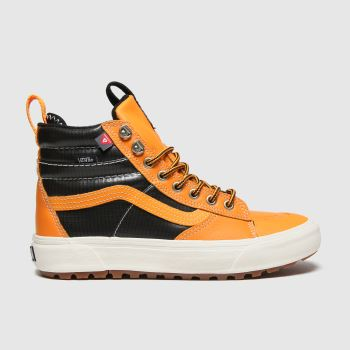 Vans Black & Orange Sk8-hi Mte 2.0 Dx Mens Trainers