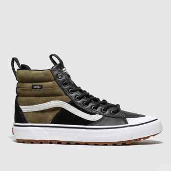 Vans Black & Brown Sk8-hi Mte 2.0 Mens Trainers