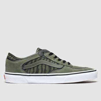 Vans Khaki Rowley Classic c2namevalue::Mens Trainers