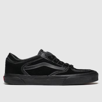 Vans Black Rowley Classic Mens Trainers