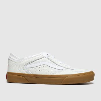 Vans White & Brown Rowley Classic Mens Trainers