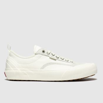 Vans White Destruct Mens Trainers