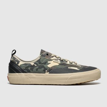Vans Green & Stone Destruct Mens Trainers