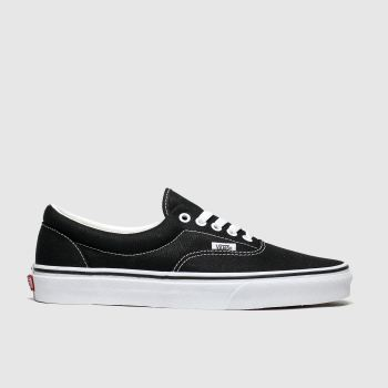Vans Black & White Era Mens Trainers