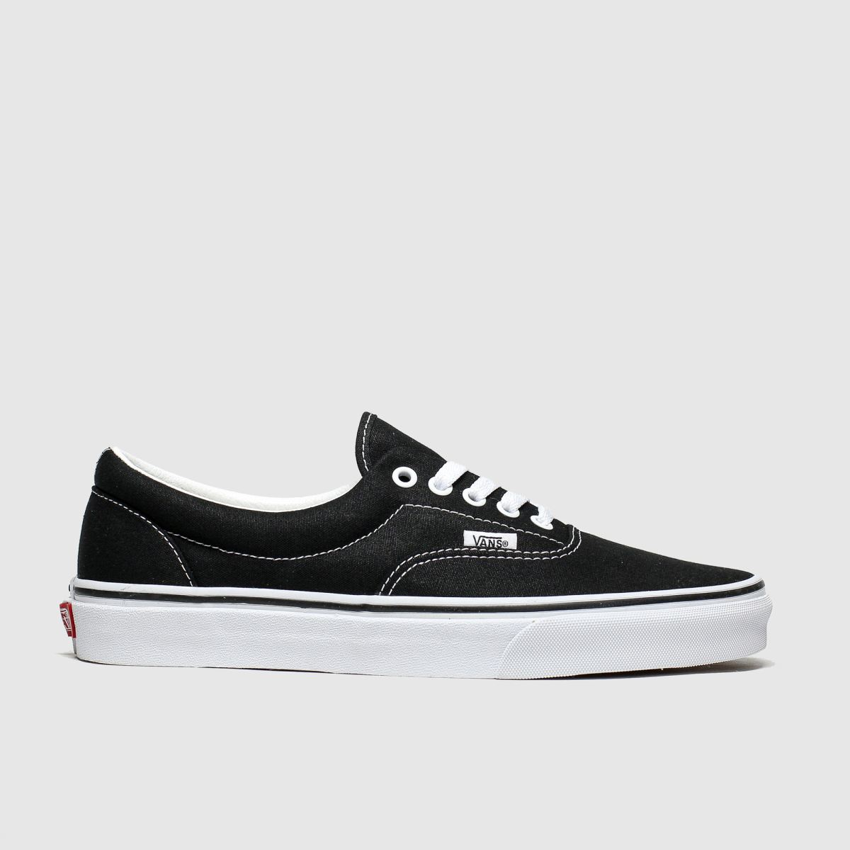 Click to view product details and reviews for Vans Black White Era Trainers.
