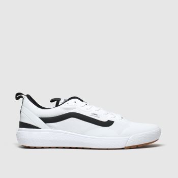 Vans White & Black Ultrarange Exo Trainers