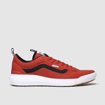 Vans Red Ultrarange Exo Mens Trainers