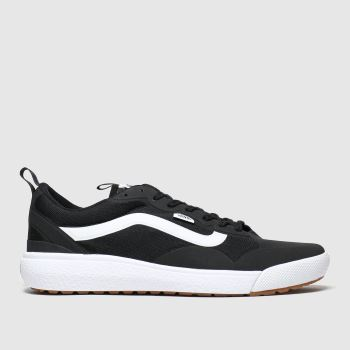 Vans Black & White Ultrarange Exo Mens Trainers#