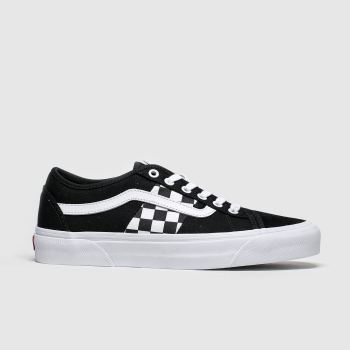 Vans Black & White Bess Ni Mens Trainers