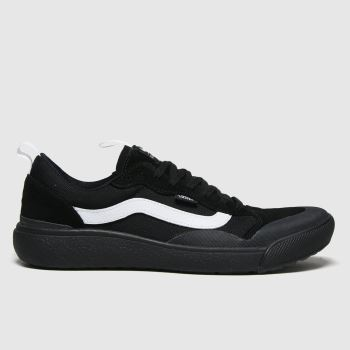 Vans Black Ultrarange Exo Se Mens Trainers