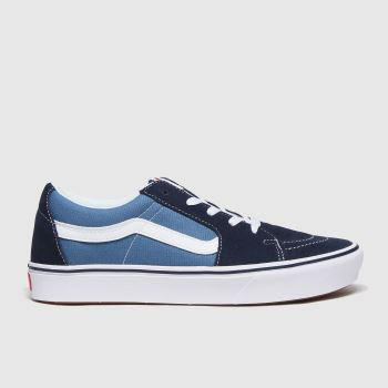 Vans Black and blue Comfycush Sk8 Low Mens Trainers