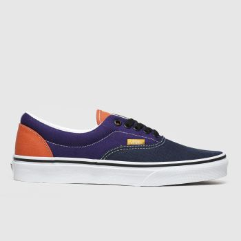 Vans Navy & Green Era Mens Trainers