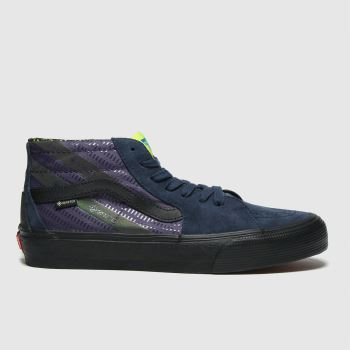 Vans Purple Sk8 Mid Gore-tex Mens Trainers