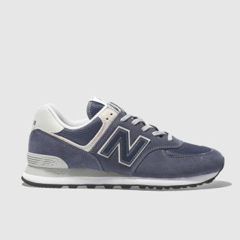 New Balance Navy 574 c2namevalue::Mens Trainers