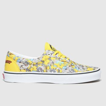 Vans Blue & Yellow Era The Simpsons Mens Trainers