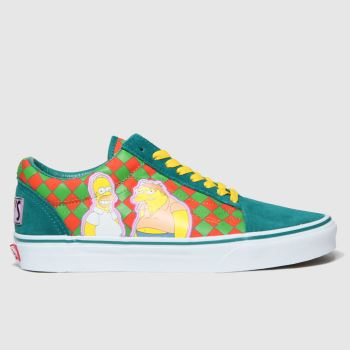 Vans Multi Old Skool The Simpsons Mens Trainers#