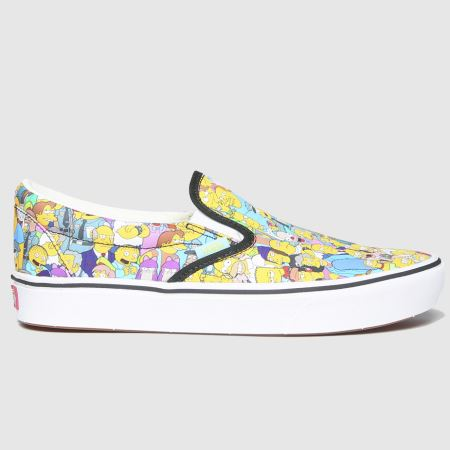 Vans Comfycush Slip Simpsonstitle=