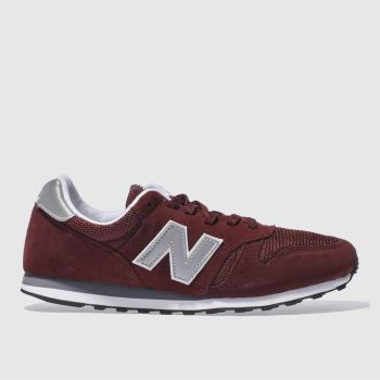 New Balance Burgundy 373 c2namevalue::Mens Trainers