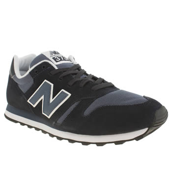 mens new balance navy & grey 373 trainers