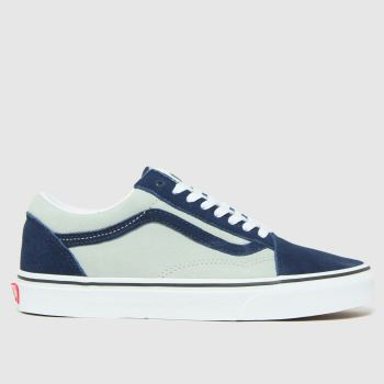 Vans Grey & Navy Old Skool Mens Trainers