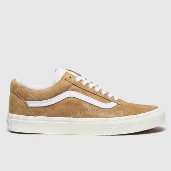 Vans Tan Old Skool Mens Trainers