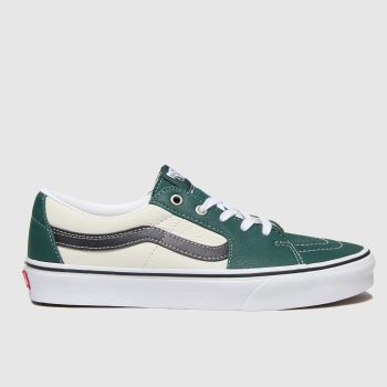 Vans Green Sk8-low Mens Trainers