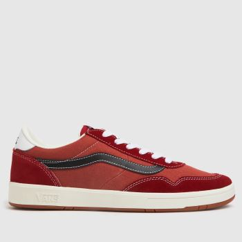 Vans Red Cruze To Cc Mens Trainers