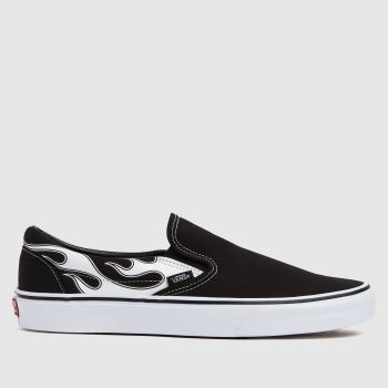 Vans Black & White Classic Slip-on Mens Trainers