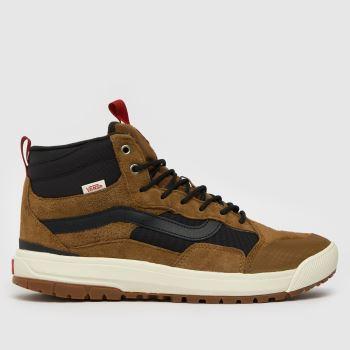 Vans Braun-Schwarz Ultrarange Exo Hi Mte-1 Herren Sneaker