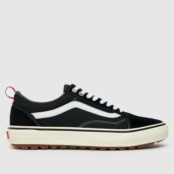 Vans Schwarz-Weiß Old Skool Mte-1 Herren Sneaker
