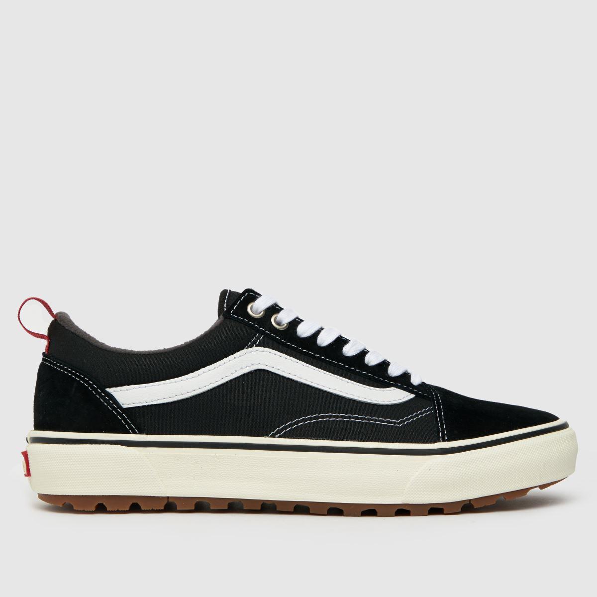 Vans Black & White Old Skool Mte-1 Trainers