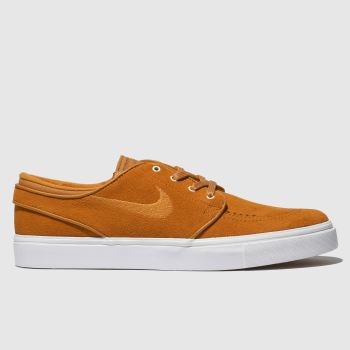 best service 1084d 8fb9b Nike Sb Orange Zoom Stefan Janoski Mens Trainers